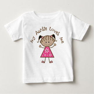 Ethnisch meine Tante Loves Me Gift Baby T-shirt