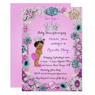 Ethnische Einladung Prinzessin-Babyparty,