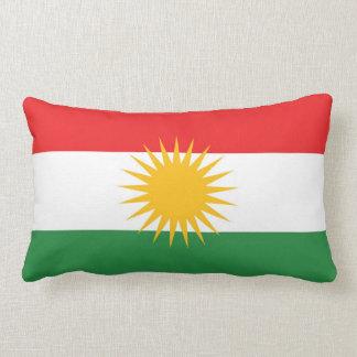 Ethnische Flagge des Kurdistans Zierkissen