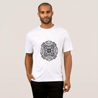Ethnische Kunst der polynesischen Maori- T-Shirt