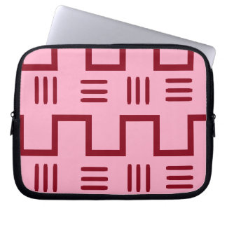 Ethnische Schlamm-Stoff-Laptop-Hülse Laptop Sleeve