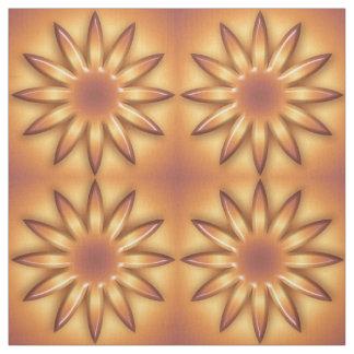 Ethnische Sonne. Abstraktes geometrisches Stoff