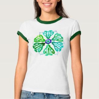 ethnischer Druck-T - Shirt