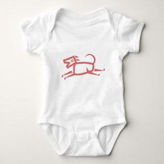 Ethnischer Hund Babygrow Shirt