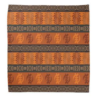 Ethnisches afrikanisches Muster mit Adinkra Halstuch