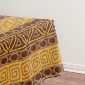ethnisches afrikanisches von Hand gezeichnetes Tischdecke