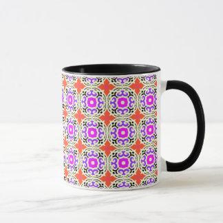 Ethnisches Muster mit marokkanischen Motiven Tasse