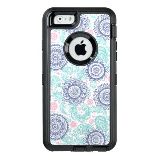 Ethnisches Paisley-Muster OtterBox iPhone 6/6s Hülle