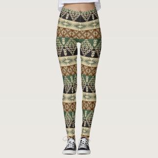 ethnisches Stammes- afrikanisches Muster Leggings