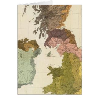 Ethnographisch, GT-Brite, Irland Karte