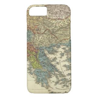 Ethnographische Karte des Osmanischen Reichs iPhone 8/7 Hülle