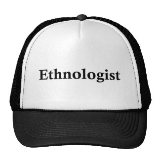 Ethnologist Trucker Kappe