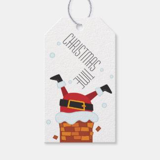 Etikett für Geschenk Christmas Heilig Stuck Geschenkanhänger
