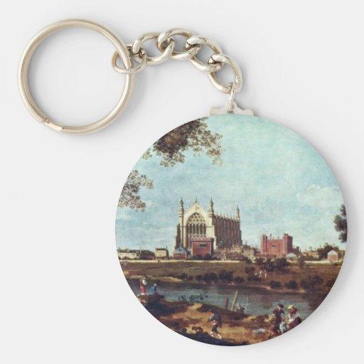 Eton Uni durch Canaletto Schlüsselband
