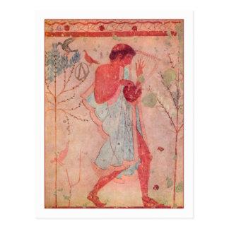 Etruscan Musiker Postkarten