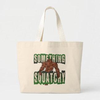 Etwas Squatchy Jumbo Stoffbeutel