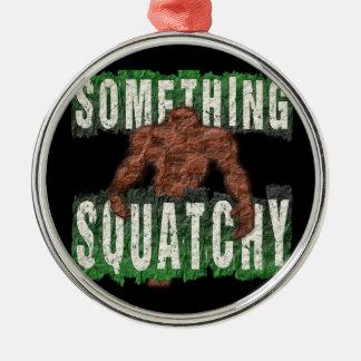 Etwas Squatchy Silbernes Ornament