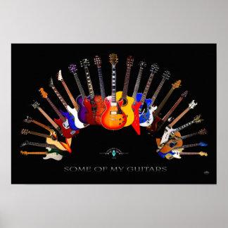 Etwas von meinem Gitarren ~ SolidSpaceStudio seit Poster