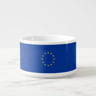 EU-Flagge Schüssel