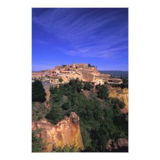 EU, Frankreich, Provence, Vaucluse, Rousillon. Photographien