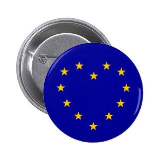 EU-Herz-Referendum-Abstimmungs-europäische Runder Button 5,7 Cm
