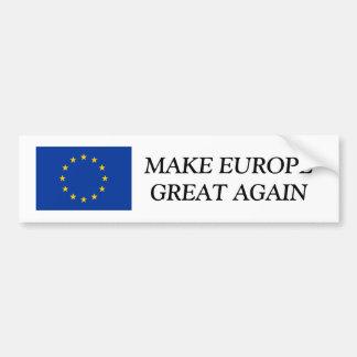 EU kennzeichnen Autoaufkleber, den | EUROPA GROSS Autoaufkleber