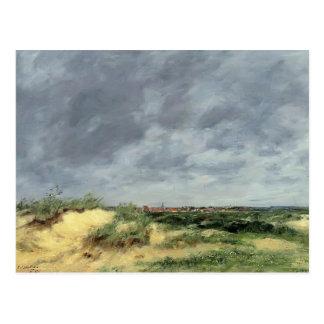 Eugene Boudin- die Berck Dünen Postkarte