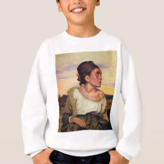 Eugène Delacroix - Waise im Friedhof Sweatshirt
