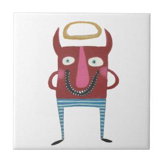Eugene der kleine Teufel Keramikfliese