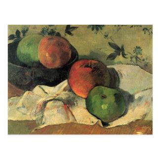 Eugène Henri Paul Gauguin - Stillleben Postkarte