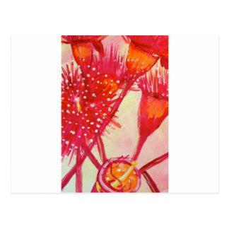 Eukalyptus-Blume Postkarte
