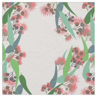 Eukalyptus-Blüten Stoff