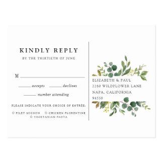Eukalyptus-Waldung UAWG Postkarte mit