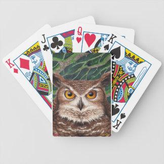 Eule Bicycle Spielkarten