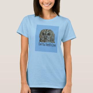 Eule, die Sie benötigen, ist das GraphicTee der T-Shirt