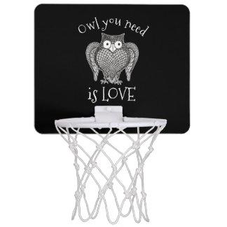 Eule, die Sie benötigen Mini Basketball Netz