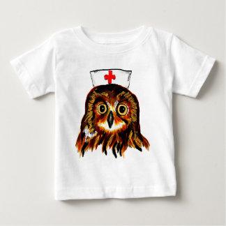 Eule Erste Hilfe Baby T-shirt