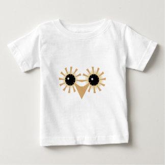 Eule Eulengesicht owl face Baby T-shirt