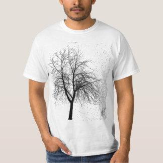 Eule in einem Baum Shirt