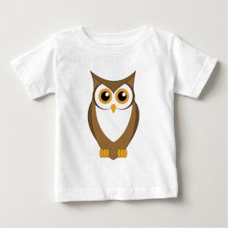 Eule, klug, Klugheit, Wissen Baby T-shirt