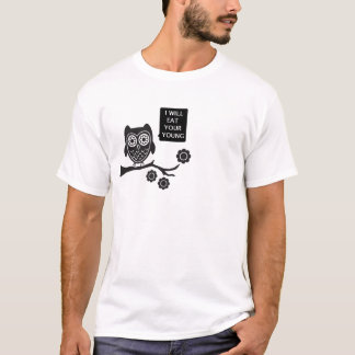 Eule, lecker T-Shirt