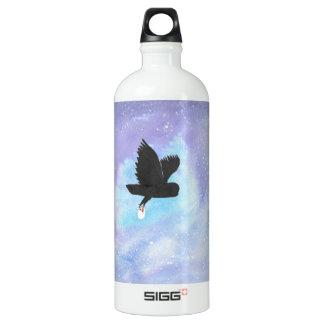 Eule mit Post-Wasser-Flasche Wasserflasche