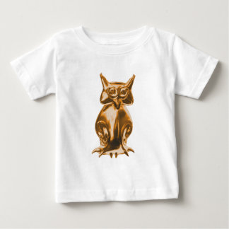 Eule owl gold baby t-shirt