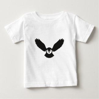 eule owl owlet bird wings baby t-shirt