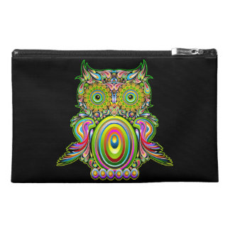 Eule psychedelische Popart Wristlets
