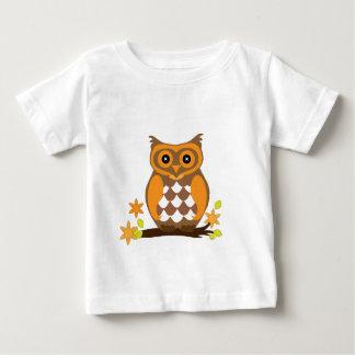 Eule wartete Mamma-Liebe Baby T-shirt