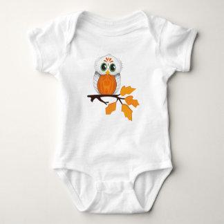 Eulen-Baby-Ausstattung Baby Strampler
