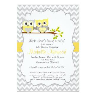Eulen-Babyparty-Einladung 12,7 X 17,8 Cm Einladungskarte