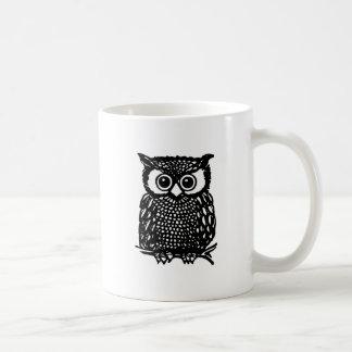 Eulen-Becher Kaffeetasse