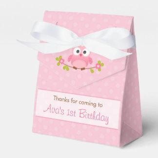 Eulen-Bevorzugungs-Kasten (Geburtstag/Babyparty) - Geschenkschachteln